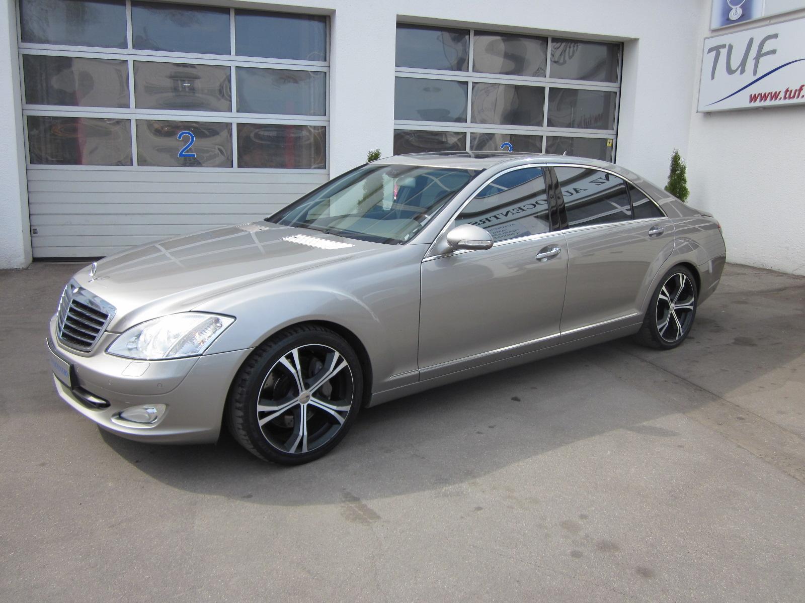 Mercedes benz s500 long tuf lv for Mercedes benz long