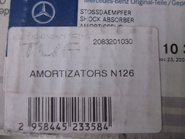Mercedes-Benz Amortizātors